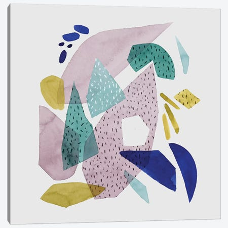 Terrazzo Drift I Canvas Print #POP1290} by Grace Popp Canvas Art