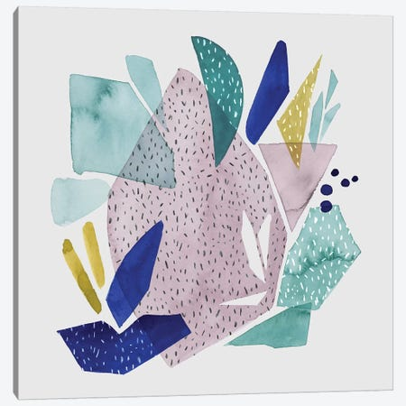 Terrazzo Drift IV Canvas Print #POP1293} by Grace Popp Canvas Art