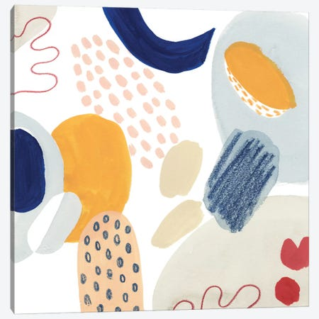Tropical Traffic VI Canvas Print #POP1299} by Grace Popp Canvas Artwork