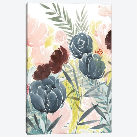 Unbridled Blooms I Canvas Print #POP1300} by Grace Popp Canvas Wall Art