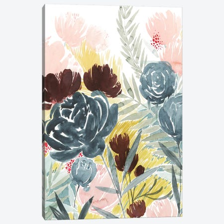 Unbridled Blooms II Canvas Print #POP1301} by Grace Popp Canvas Artwork
