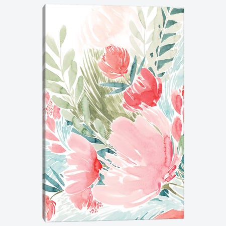 Wilder Bouquet II Canvas Print #POP1305} by Grace Popp Canvas Print