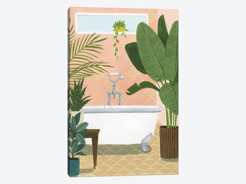 Bathtub Oasis I by Grace Popp 1-piece Canvas Art