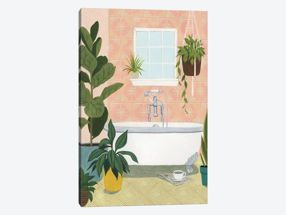 Bathtub Oasis II by Grace Popp 1-piece Canvas Wall Art