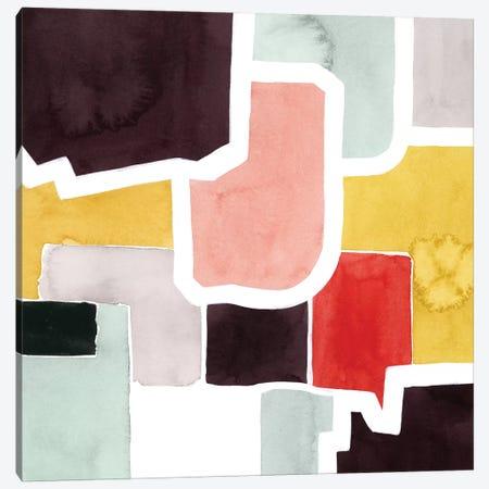 Color Blocking IV Canvas Print #POP1313} by Grace Popp Canvas Art Print