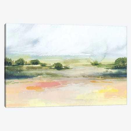 Sunlit Marsh I Canvas Print #POP1338} by Grace Popp Art Print