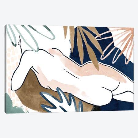Tropical Laze II Canvas Print #POP1345} by Grace Popp Canvas Art Print