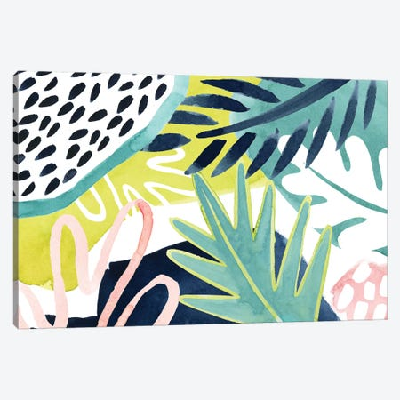 Tropical Salve I Canvas Print #POP1346} by Grace Popp Canvas Art Print