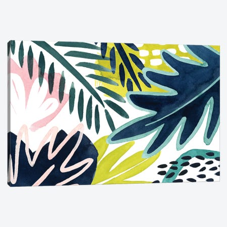 Tropical Salve II Canvas Print #POP1347} by Grace Popp Canvas Print