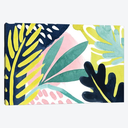 Tropical Salve III Canvas Print #POP1348} by Grace Popp Canvas Artwork