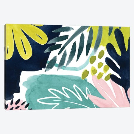 Tropical Salve IV Canvas Print #POP1349} by Grace Popp Canvas Wall Art