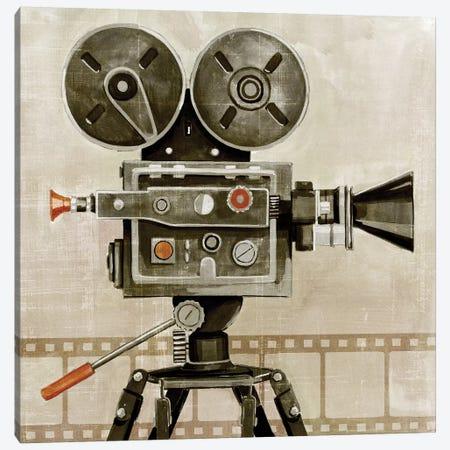 Vintage Reel I Canvas Print #POP1352} by Grace Popp Canvas Print