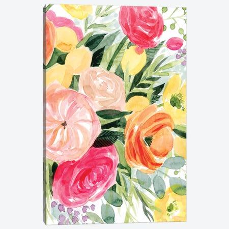 Blossomy Gathering II Canvas Print #POP1358} by Grace Popp Canvas Art Print