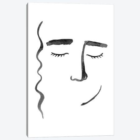 Face in a Crowd II Canvas Print #POP1360} by Grace Popp Canvas Art