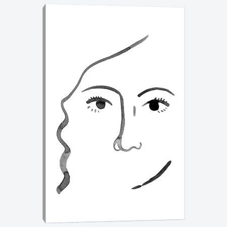 Face in a Crowd III Canvas Print #POP1361} by Grace Popp Canvas Art
