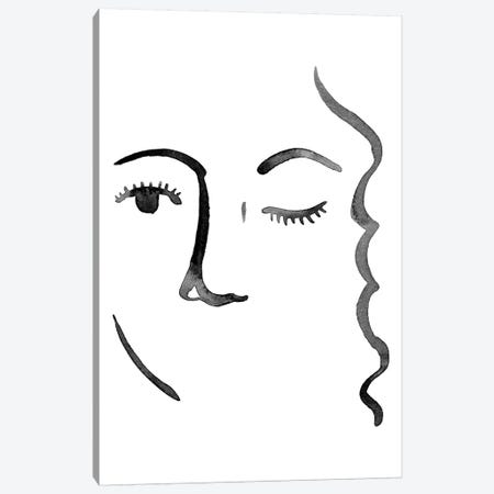 Face in a Crowd IV Canvas Print #POP1362} by Grace Popp Canvas Artwork