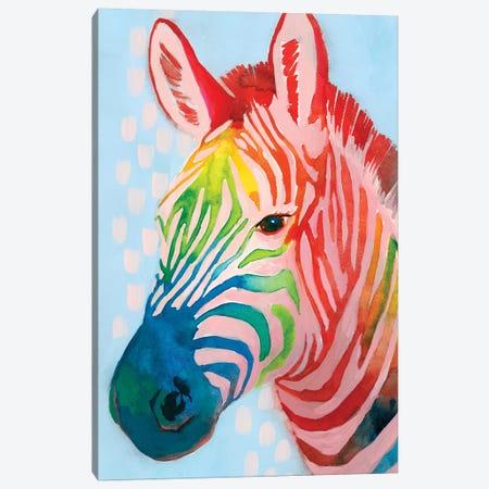 Jungle Spectrum I Canvas Print #POP1365} by Grace Popp Canvas Print