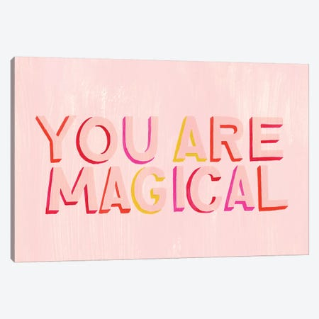 You are Powerful I Canvas Print #POP1368} by Grace Popp Canvas Artwork