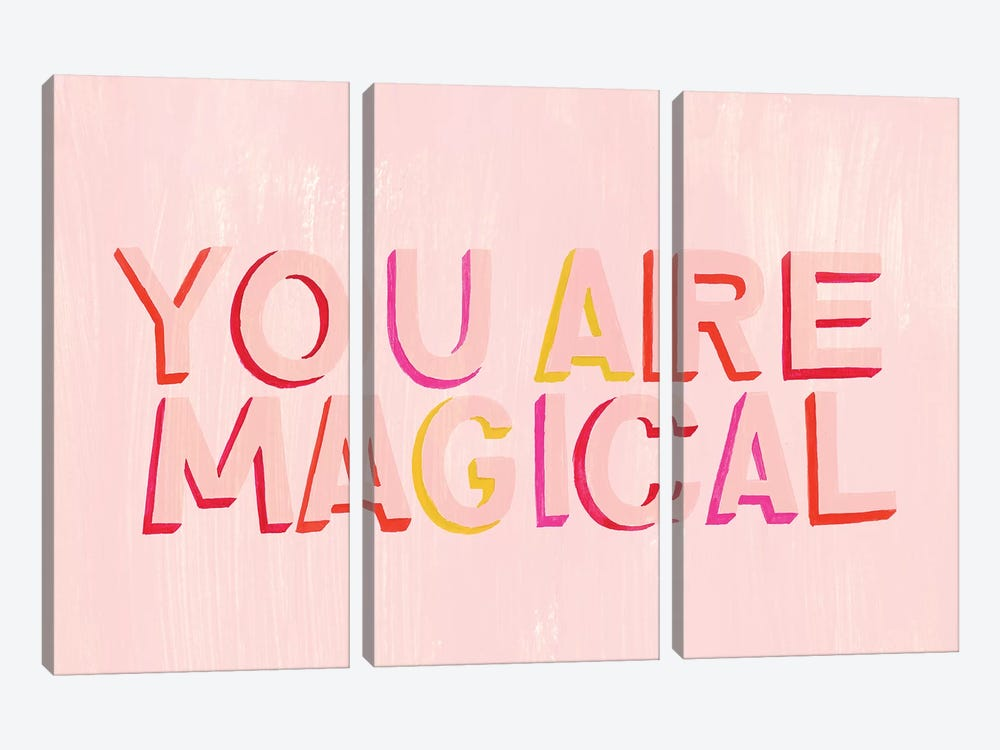You are Powerful I by Grace Popp 3-piece Canvas Print