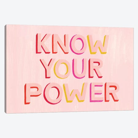 You are Powerful II Canvas Print #POP1369} by Grace Popp Canvas Wall Art