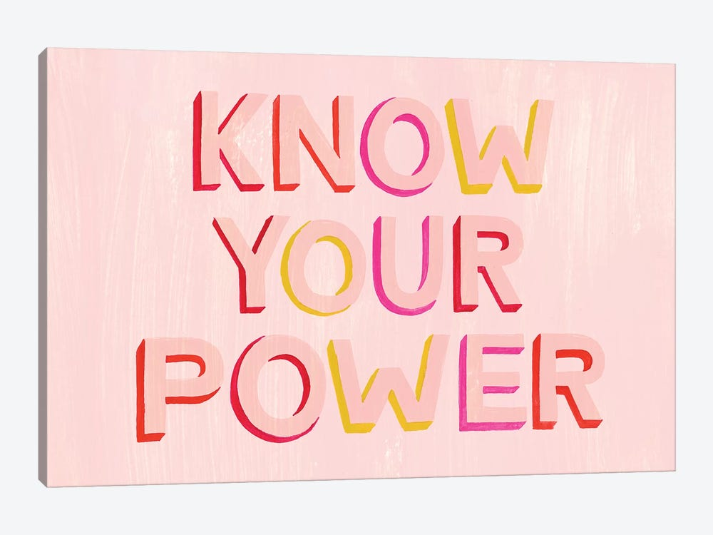 You are Powerful II 1-piece Canvas Art