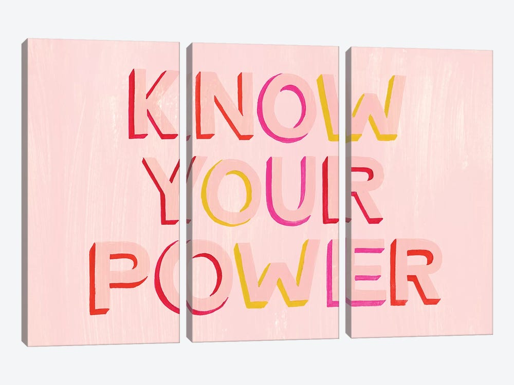 You are Powerful II by Grace Popp 3-piece Canvas Art