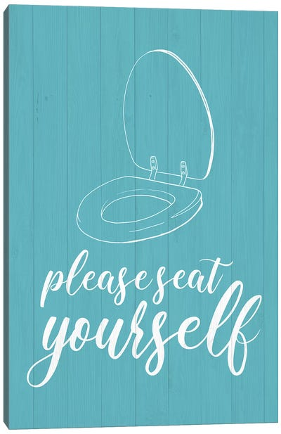 Bathroom Suggestions II Canvas Art Print