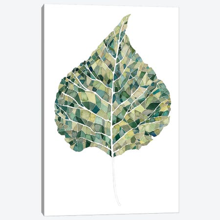 Verdant Details I Canvas Print #POP137} by Grace Popp Canvas Art Print