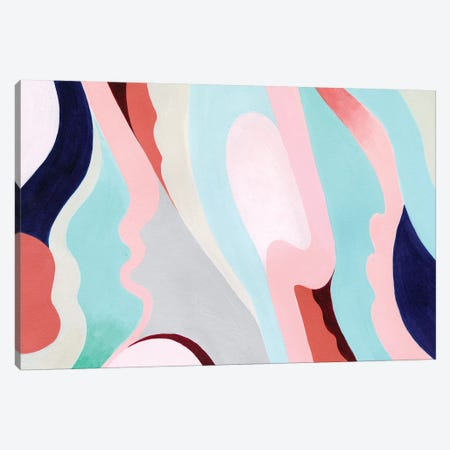 Pastel Highlands V Canvas Print #POP1381} by Grace Popp Canvas Wall Art