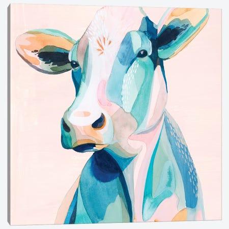 Pastel Pasture II Canvas Print #POP1386} by Grace Popp Art Print
