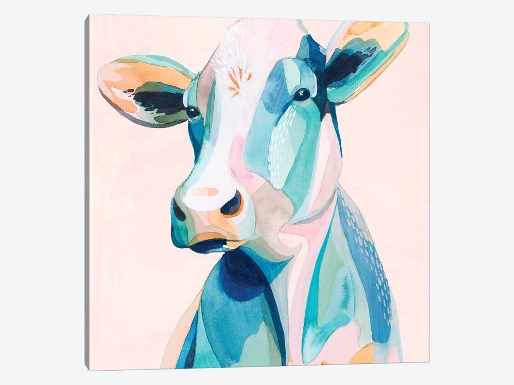 Pastel Pasture II by Grace Popp 1-piece Canvas Print
