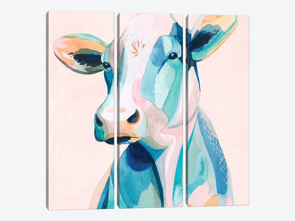 Pastel Pasture II by Grace Popp 3-piece Art Print