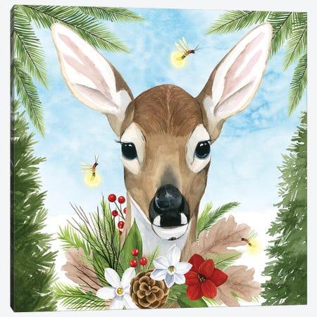 Forest Christmas I Canvas Print #POP1387} by Grace Popp Canvas Art Print