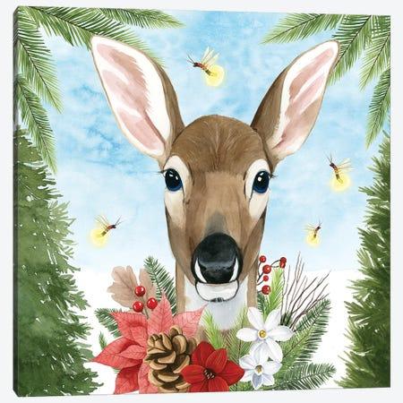 Forest Christmas II Canvas Print #POP1388} by Grace Popp Canvas Art