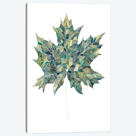 Verdant Details II Canvas Print #POP138} by Grace Popp Canvas Art