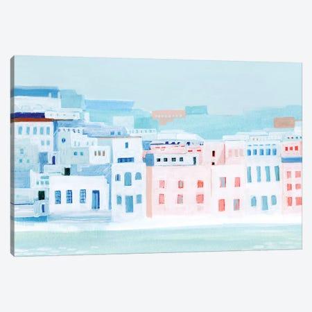 Fishing Town I Canvas Print #POP1403} by Grace Popp Art Print