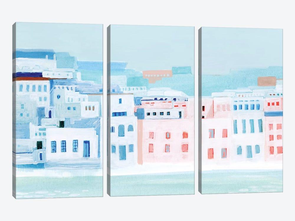 Fishing Town I by Grace Popp 3-piece Art Print