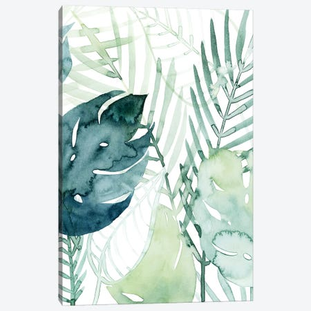 Palm Pieces I Canvas Print #POP1409} by Grace Popp Canvas Art Print