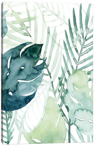 Palm Pieces I Canvas Art Print