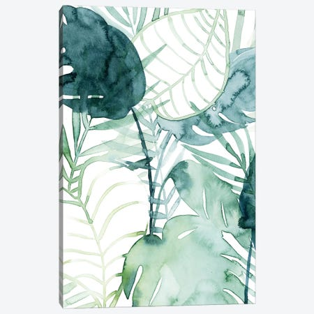Palm Pieces II Canvas Print #POP1410} by Grace Popp Canvas Art