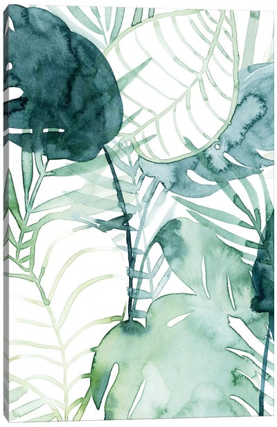 Palm Pieces II Canvas Art Print
