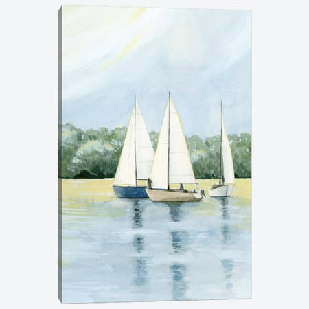 Afternoon Sail I Canvas Print #POP1411} by Grace Popp Canvas Art