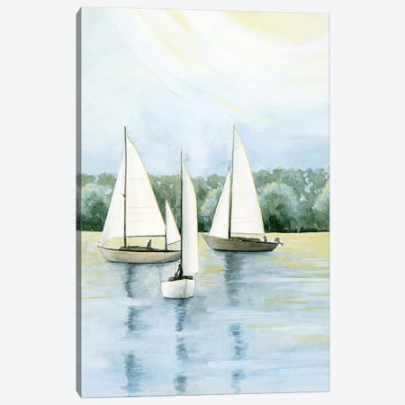 Afternoon Sail II Canvas Print #POP1412} by Grace Popp Canvas Art
