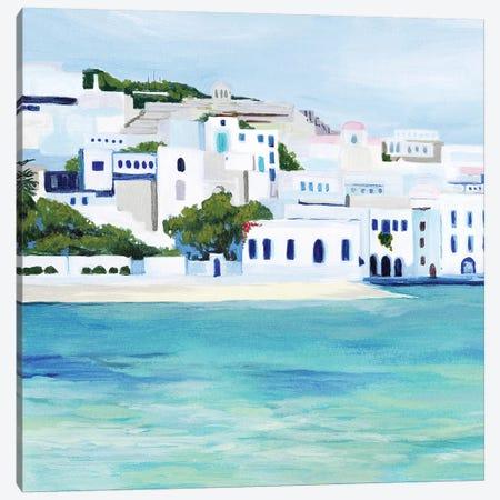 Mykonos I Canvas Print #POP1413} by Grace Popp Canvas Art