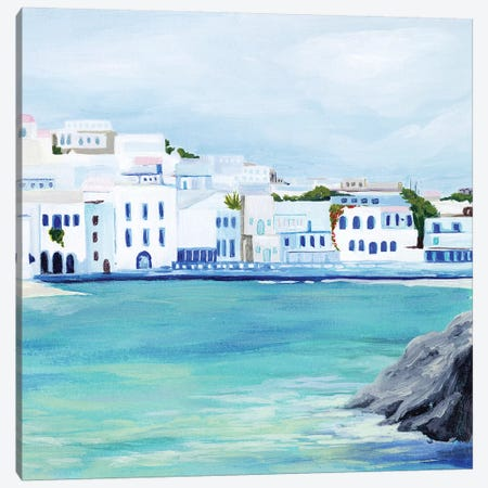 Mykonos II Canvas Print #POP1414} by Grace Popp Canvas Print