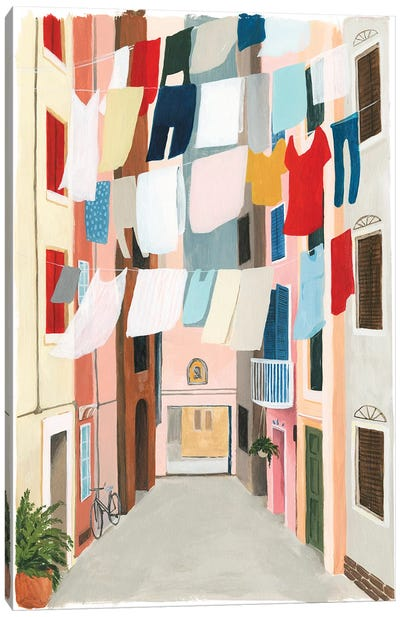 Laundry Day II Canvas Art Print