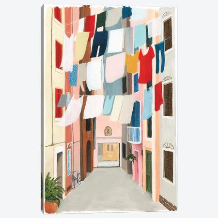 Laundry Day II Canvas Print #POP1418} by Grace Popp Canvas Wall Art