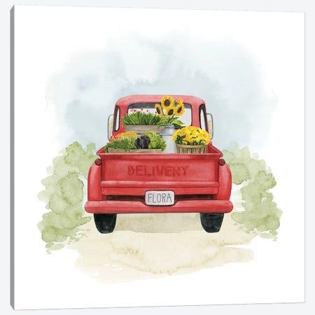 Farm Flora I Canvas Print #POP1419} by Grace Popp Canvas Wall Art