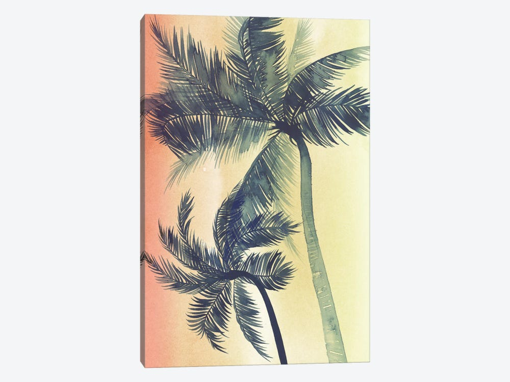 Vintage Palms I by Grace Popp 1-piece Canvas Art