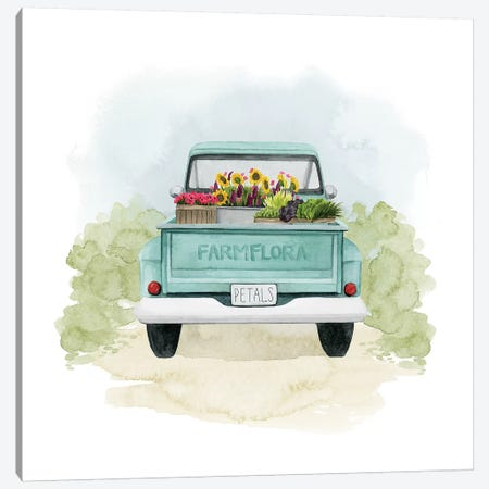 Farm Flora II Canvas Print #POP1420} by Grace Popp Art Print
